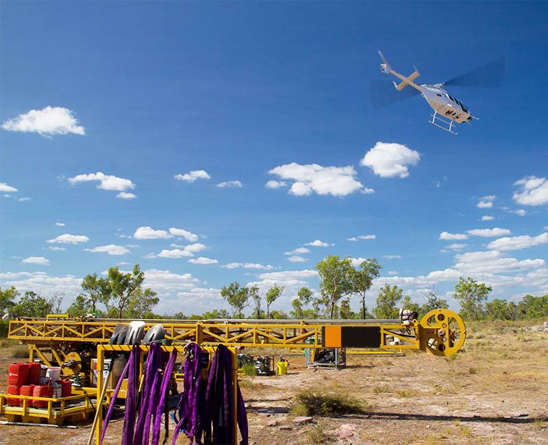 heliportable drilling services wa